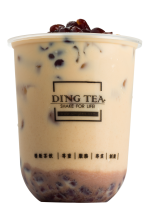 RED BEAN MILK TEA